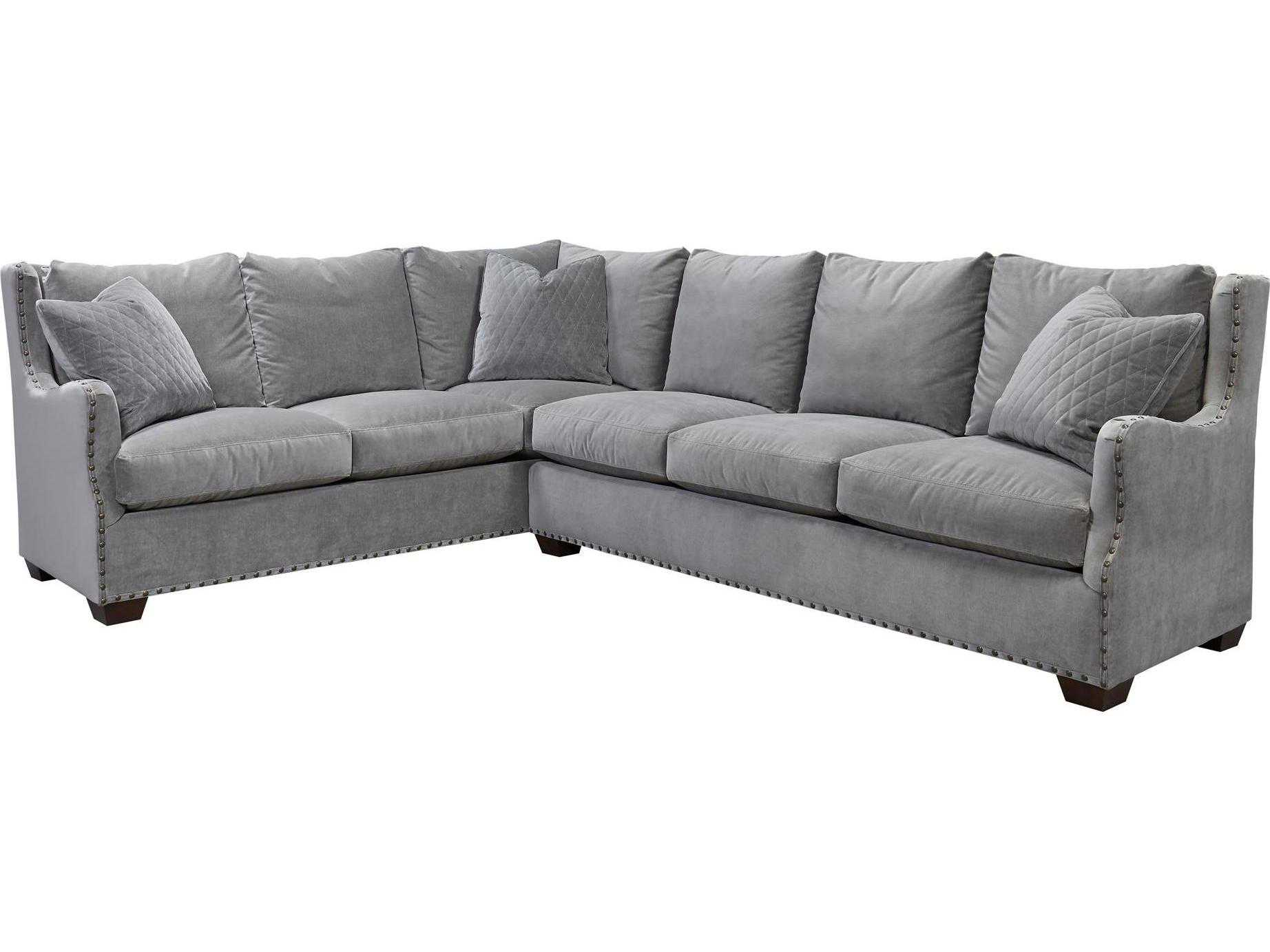 Universal Furniture Curated Grey Cloud Connor Sectional