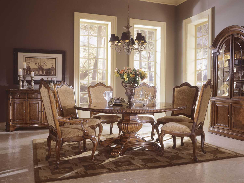 universal furniture villa cortina dining set uf4096572cset