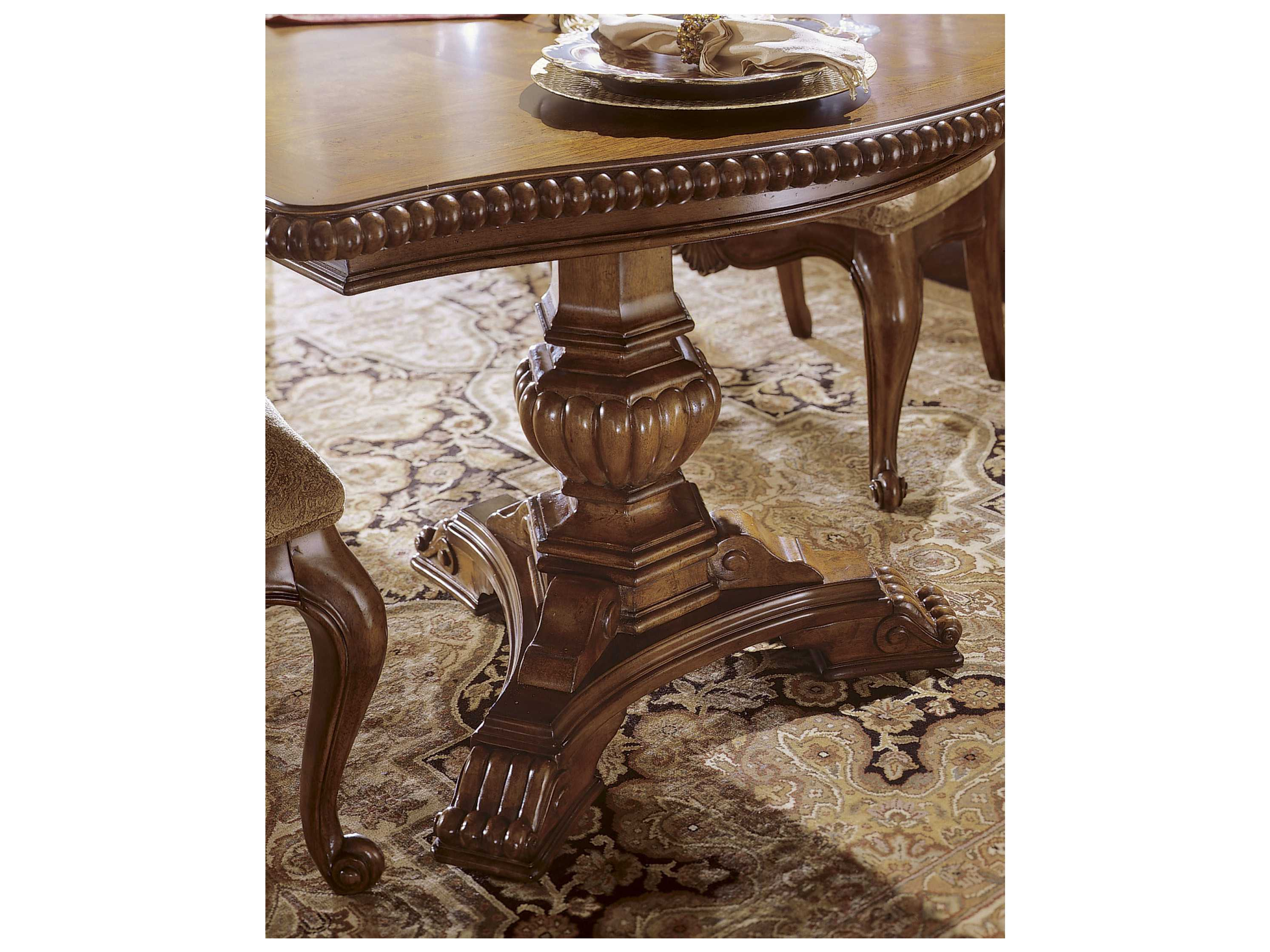 100 Double Pedestal Dining Room Tables