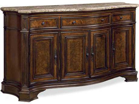 Universal Furniture Villa Cortina 68''L x 23''W Buffet with Marble Top