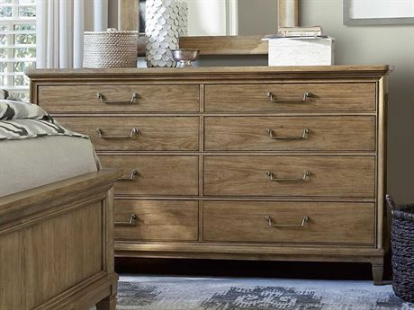 Universal Furniture Moderne Muse Bisque Double Dresser