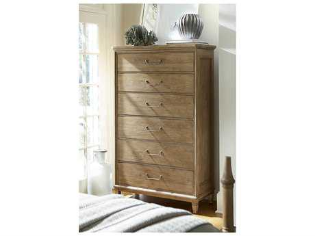 Universal Furniture Moderne Muse 42''L x 19''W Bisque Chest of Drawers