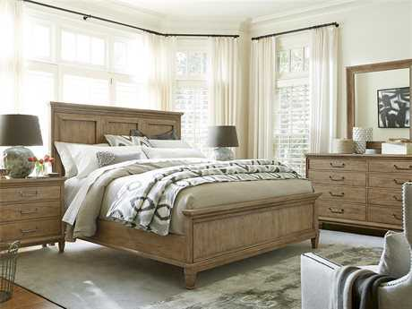 Universal Furniture Moderne Muse Bisque Panel Bed Bedroom Set