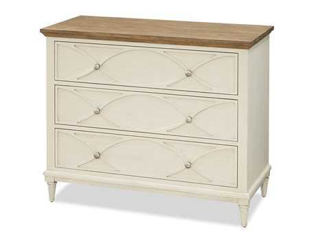 Universal Furniture Moderne Muse 42''L x 19''W Brushed Canvas with Bisque Top Nightstand