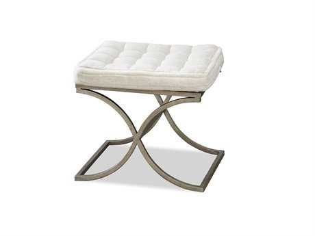 Universal Furniture Moderne Muse Aged Iron Accent Bench
