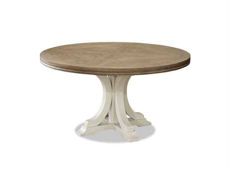Universal Furniture Moderne Muse 58'' Round Bisque & Canvas Dining Table