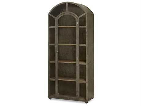 Universal Furniture Moderne Muse 35''L x 16''W Aged Iron China Cabinet