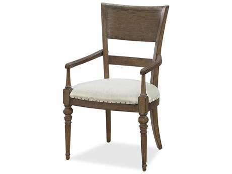 Universal Furniture New Bohemian Oak Dining Arm Chair (Sold in 2)