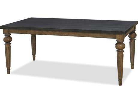 Universal Furniture New Bohemian 72''L x 38''W Rectangular Bohemian Oak & Workbench Dining Table
