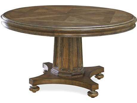 Universal Furniture New Bohemian 80'' Round Bohemian Oak Dining Table