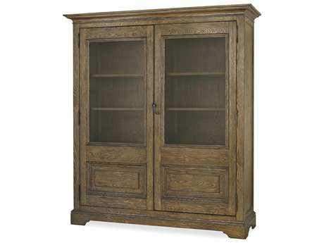 Universal Furniture New Bohemian 72''L x 21''W Bohemian Oak China Cabinet