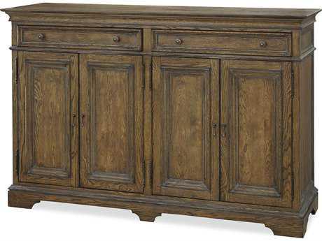 Universal Furniture New Bohemian 70''L x 22''W Rectangular Oak Buffet