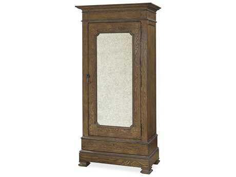 Universal Furniture New Bohemian Oak Vintner Bar Cabinet