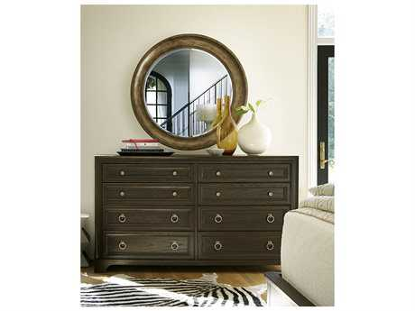 Universal Furniture California Hollywood Hills Double Dresser & Mirror Set