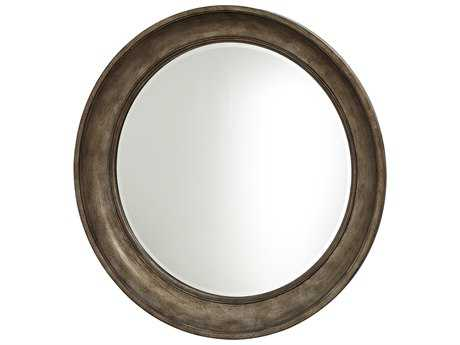 Universal Furniture California 43'' Round Champagne Wall Mirror