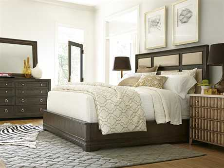 Universal Furniture California Casual Panel Bed Bedroom Set