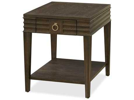 Universal Furniture California 23''L x 27''W Rectangular Hollywood Hills End Table