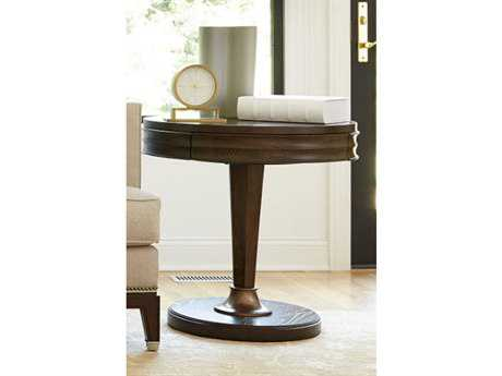Universal Furniture California 26'' Round Hollywood Hills Pedestal Table