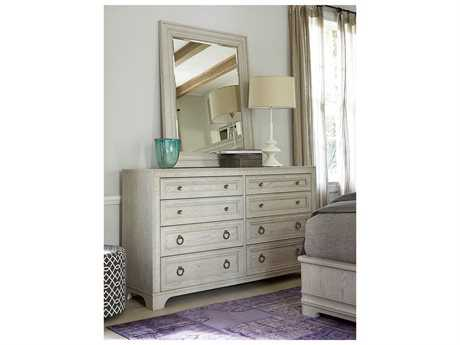 Universal Furniture California Malibu Double Dresser & Mirror Set
