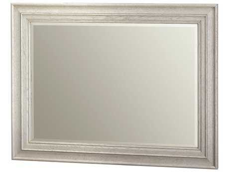 Universal Furniture California 51''W x 39''H Rectangular Malibu Wall Mirror
