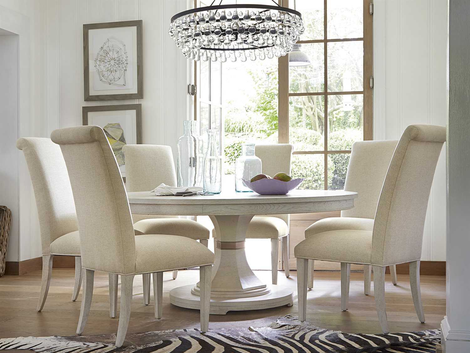 Universal Furniture California 80 Round Malibu Dining