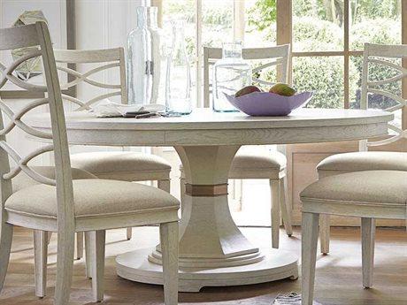 Universal Furniture California 80'' Round Malibu Dining Table