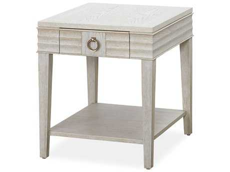 Universal Furniture California 23''L x 27''W Rectangular Malibu End Table