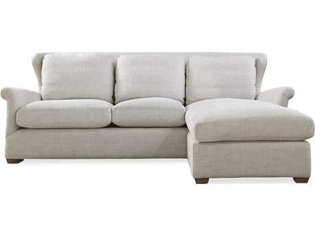 Universal Furniture Haven Sofa Chaise with Ottoman