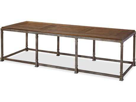 Universal Furniture Remix 76''L x 26''W Rectangular Bannister Cocktail Table