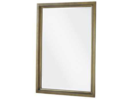 Universal Furniture Playlist 30''W x 44''H Brown Eyed Girl Rectangular Portrait Wall Mirror