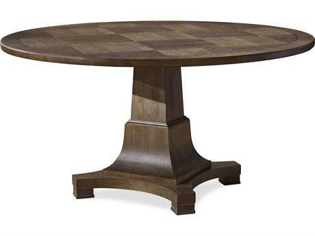Universal Furniture Playlist 58'' Round Brown Eyed Girl Dining Table