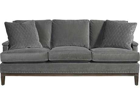 Universal Furniture Curated Grey Cloud Prescott Sofa