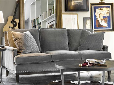 Universal Furniture Curated Grey Cloud Prescott Sofa