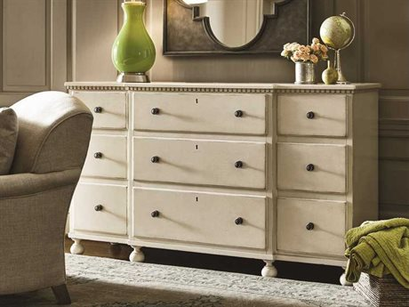 Universal Furniture Sojourn Summer White Triple Dresser