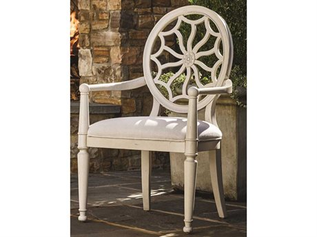 Universal Furniture Sojourn Summer White Dining Arm Chair (Sold in 2)