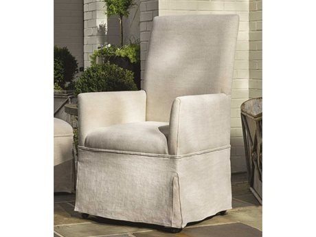 Universal Furniture Sojourn Summer White Dining Respite Arm Chair (Sold in 2)
