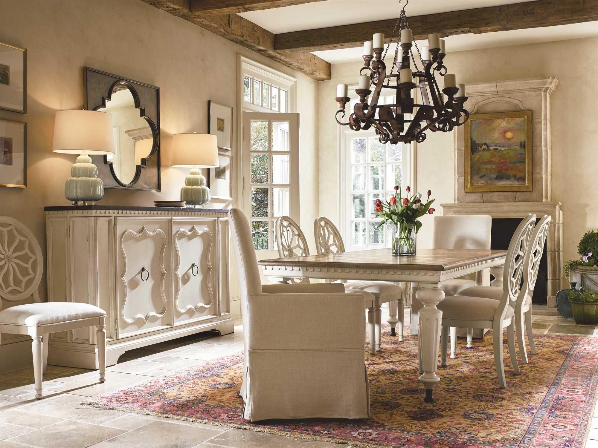Universal Furniture Sojourn Dining Set | UF543A653SET