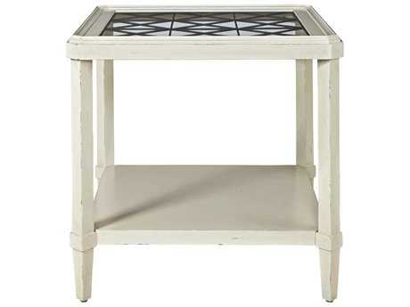 Universal Furniture Sojourn 27'' Wide Square Summer White End Table