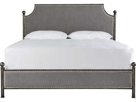 Universal Furniture Sojourn Metal Respite King Size Metal Panel Bed
