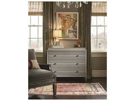 Universal Furniture Sojourn 44''W x 18''D Rectangular Grey Lake Hall Chest Nightstand