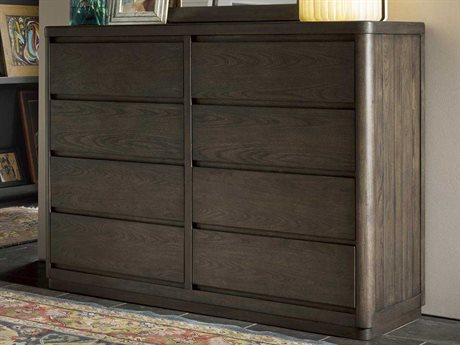 Universal Furniture Curated Graphite Roxbury Double Drawer Dresser