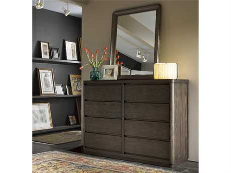 Universal Furniture Curated Roxbury Double Dresser with Mirror Set