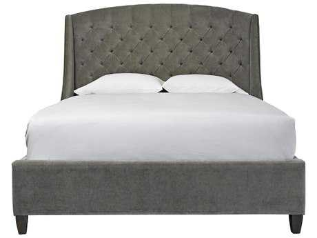 Universal Furniture Curated Grey Cloud Halston King Size Platform Bed