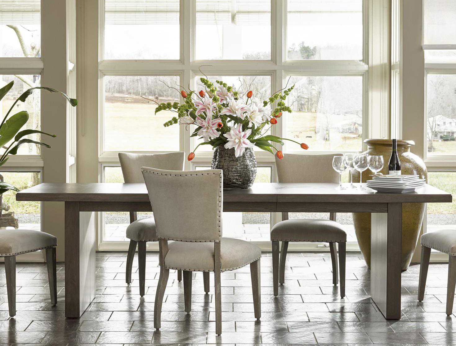 Universal furniture curated tremont dining set uf552755set1 for Top rated dining room tables