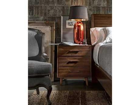 Universal Furniture Curated 24''W x 18''D Rectangular Townhouse Newbury Nightstand