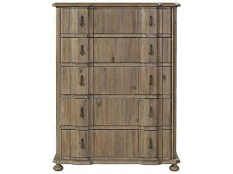 Universal Furniture Authenticity 44''W x 19''D Rectangular Khaki Chest of Drawers