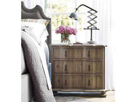 Universal Furniture Authenticity 34''W x 18''D Rectangular Khaki Nightstand