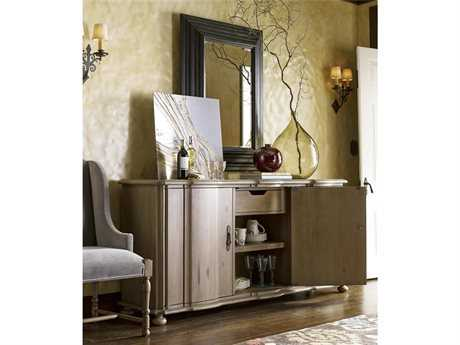 Universal Furniture Authenticity Credenza Buffet Dining Accent Set