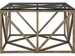 Universal Furniture Authenticity 32'' Wide Square Khaki Truss Cocktail Table