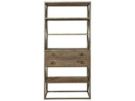 Universal Furniture Authenticity Khaki Etagere Rack